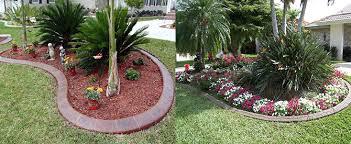 cr curb landscaping curbing u2022 panama city beach florida