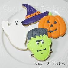Halloween Pumpkin Sugar Cookies - sugar dot cookies halloween sugar cookies with royal icing