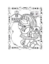 25 back to coloring pages coloringstar
