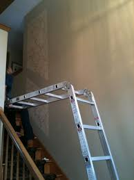 painting a high ceiling over stairs integralbook com