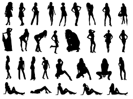 cocktail silhouette png 30 woman silhouettes png transparent onlygfx com