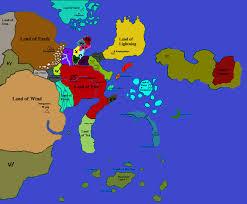 Naruto World Map by World Map Reign Of Golden Darkness Smaller Land By Amidamaru88