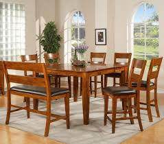 mango 8 pc counter table stools bench by steve silver dining