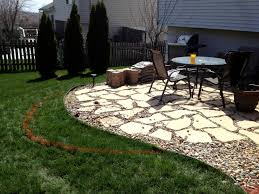 Rock Patio Design Lush Flagstone Gravel Patio Ideas Ravel Patio Design Pea Rock How