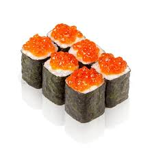 cuisine stock japanese cuisine maki sushi with caviar stock photo colourbox