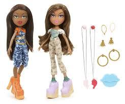 bratz 2 pack bffl yasmin sasha dolls toys