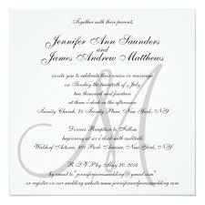 Elegant Wedding Invitations Elegant Wedding Invitations Monogram Initial Names Zazzle Com