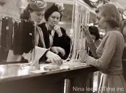 christmas at macys in 1948 glamourdaze