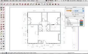 how to do a floor plan in sketchup home decorating interior