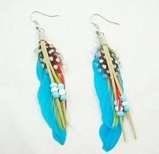 earrings styles different design model inspired of feathers earrings