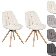 Esszimmerst Le Design Woltu Bh43cm 2 2 X Esszimmerstühle 2er Set Esszimmerstuhl Leinen