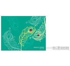 Peacock Wedding Programs Perfect Peacock Wedding Programs Wedding Program Paper