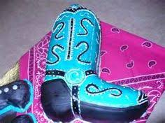 cowboy boot cake replica of lola u0027s cowboy boots lola u0027s cowgirl