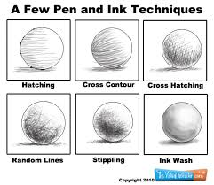 basic pen and ink techniques