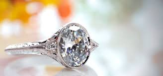 vintage wedding rings for vintage antique engagement rings in portland