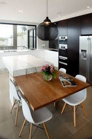 black kitchen island table 3 coolest kitchen layouts with 27 exles digsdigs