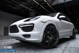 porsche cayenne black wheels black verona rims by xo luxury on porsche cayenne gts carid com