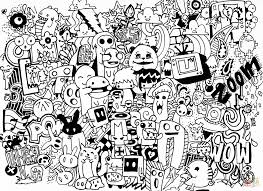 doodle coloring pages doodle coloring pages colouring