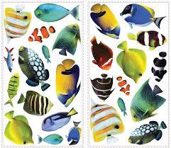 creating tropical fish applique