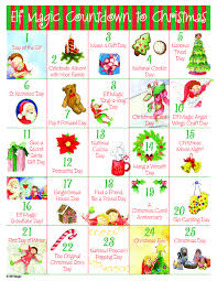 christmas countdown calendar free countdown to christmas advent calendar