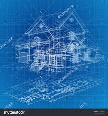 blueprint house plans blueprint house stock vectors vector clip art shutterstock