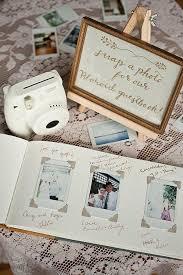 s perspective four wedding guestbook ideas polaroid