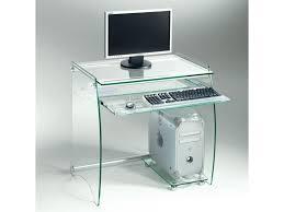bureau conforama en verre bureau en verre transparent zani 20100853557 vente de bureau