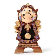 disney traditions 4049621 cogsworth keeping watch