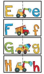 preschool printables alphabet cards matching upper and lower case