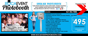 photo booth rental cost buttons social icons