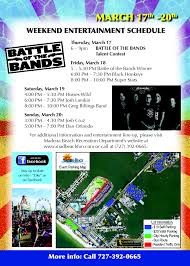 Madeira Beach Florida Map by Spring Break Festival U0026 Carnival Mad Beach Events Madeira