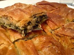 traditional spanakopita recipe spinach pie with