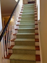 Hall And Stairs Ideas by My New Dash And Albert Stair Runner On My Back Stairs Diamond