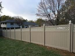 ideal decks u0026 fencing vinyl fence packages