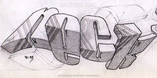 neck 3d graffiti sketches graphic design art on paper amazing