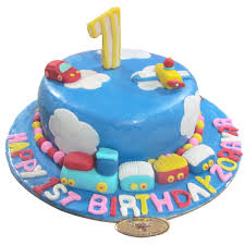 1st birthday cake sky birthday cake chandigarh cakes delivery home