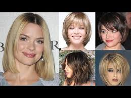 bob haircut for chubby face 2018 bob haircuts for fine hair round face short long bob hair