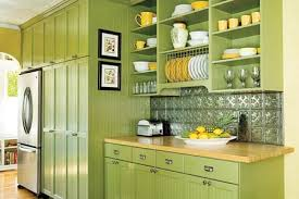 yellow and green kitchen ideas editors picks our favorite green kitchens pressed tin green
