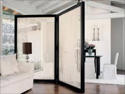 tri fold room divider screens vintage danish teak room divider