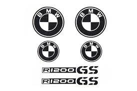 black and white bmw logo bmw r1200gs decals bmw gs stickers stickers moto