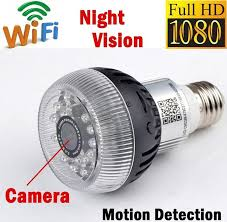 light bulb security system 1080p wifi p2p spy ip camera e27 smart wireless led l bulb night