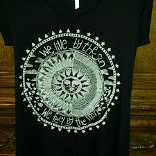 60 outfitters tops we live by the sun we feel by the