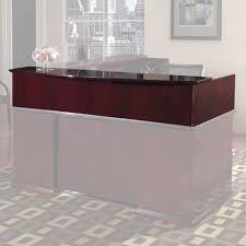 L Shaped Reception Desk Osp Furniture Mendocino L Shaped Reception Desk Reviews Wayfair