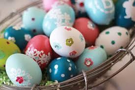 ceramic easter eggs decorated ceramic eggs