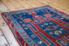Red Blue Rug Caucasian Rugs Westchester Ny Rugs