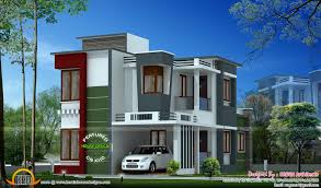 1400 Sq Ft 1400 Sq Ft Modern Contemporary House Kerala Home Design And