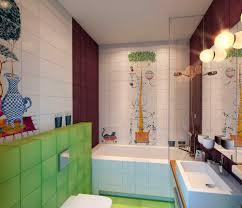 bathroom cute stylish bathroom designs for kids with striped