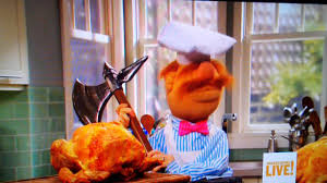 the muppets swedish chef on thanksgiving live on food network