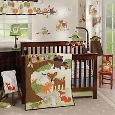 Baby Crib Bed Sets Lambs Woodland Tales 6 Baby Crib Bedding Set W Bumper