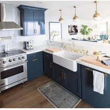 Best  Blue Kitchen Inspiration Ideas Only On Pinterest Navy - Blue kitchen cabinets